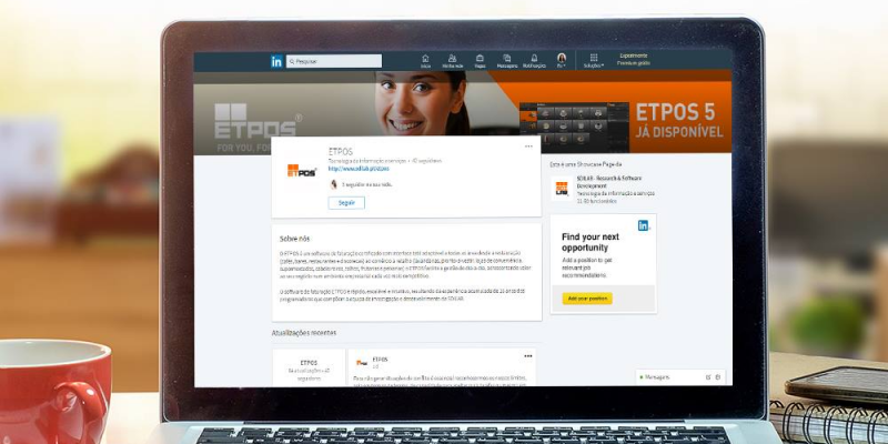 Dê o próximo passo no mundo digital com a nova versão do ETPOS 5